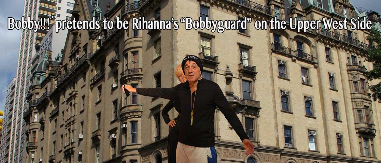 Bobby with Rihanna.